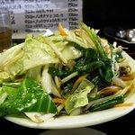 太田や食堂 - 野菜いため