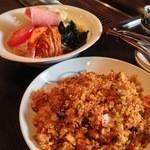 本格焼肉 寿香苑 あまつぼ - 〆のキムチチャーハンと冷麺は昔からの定番!
