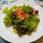 47135632 - ツナとコーンのグリーンサラダ