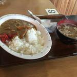 信一食堂 - 料理写真:カレーライス 420円