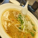 いちまく - スープカレーラーメン(グリーン