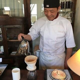 グリット - ドリンク写真:ハンドドリップコーヒーです