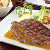 メゾンカイザー - 料理写真:網焼きステーキはランチタイムだけ!