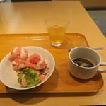 Kyoumanzarakasane - アイスもあります。