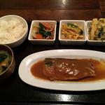 てまひま - サバ味噌定食!!680円