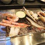ジャガタラ - 料理写真:夕食。炉端焼きコース。