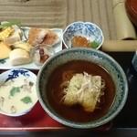 食・風暖木 - 料理写真:待望の蒸し蕎麦