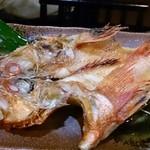 関内安孫子 - キンキの塩焼き