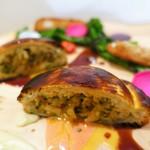 kiki harajuku - 富士鶏と大葉のパイ包み焼き フランボワーズ風味