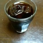 中華料理 とき - サービスのアイスコーヒー
