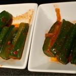 お肉の専門店スギモトプロデュース 焼肉 燦家 - 胡瓜キムチ
