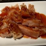 お肉の専門店スギモトプロデュース 焼肉 燦家 - ハチノス味噌味