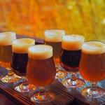 ブルドッグ 銀座 クラフトビール World Beer Pub&Foods - 3種テイスティングセット