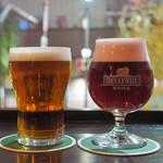 ブルドッグ 銀座 クラフトビール World Beer Pub&Foods - キルケニー&ベルビュークリーク