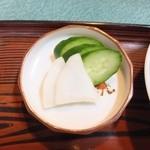 ハトヤ - 大根ときゅうりの糠漬け
