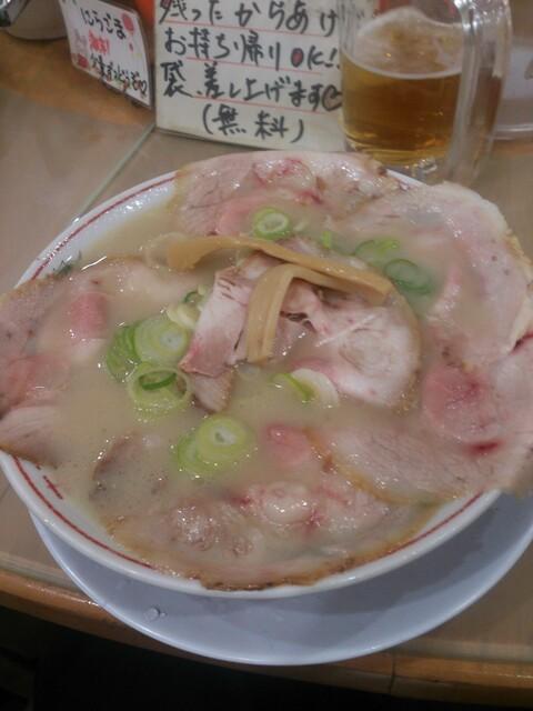 中華そば 高安 - チャーシュー麺880円