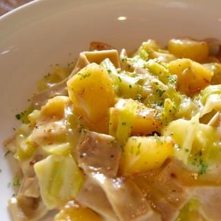 【自慢の料理】蕎麦を使った北イタリアの郷土料理