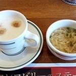 47150021 - ドリンクバーとスープ