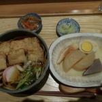 湘南 海まる - うどん定食、おでん