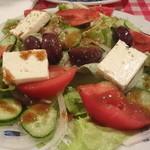 エーゲ海 - ギリシャの田舎風サラダ