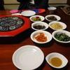 峠 - 料理写真:テーブルの上には、最初からナムルなど12皿が並んでいます。