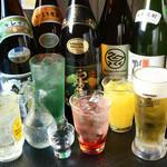 獅魂 - 『飲み放題』は、カクテル・焼酎・酎ハイはもちろん、プレミアムモルツ・地酒も充実!