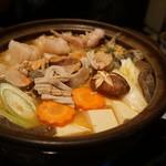 喜作 - あんこう鍋 初めて食べたけど美味しかったー