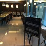 ホテルヴィアイン - 朝食会場andカフェスペース