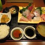 47153771 - 限定!旬地魚お刺身定食 1000円