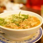KHANHのベトナムキッチン 銀座999 - 2016.2 ブン ボー フエ(1,170円)牛すじ入りレモングラス風味の辛口麺