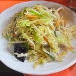 宝津飯店 - 野菜炒め