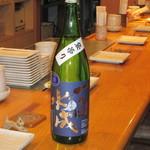 酒房あづみの - 野県の一白水成       一杯100CCで500円