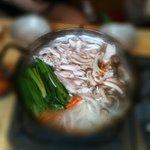 ゾンドンボッサム豚足 - タクハンマリ'鶏一匹'まろやかな味 予約必要