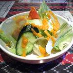 エベレストカレー - ランチ:サラダ