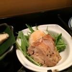 楷菜味 わたなべ - 鶏の香草焼き