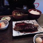 陸中 - サバの味噌煮定食700円税込