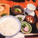 素処 - 西京焼と海老真丈
