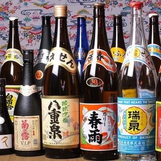 ★沖縄の全酒造所の泡盛を常時150種類以上取り揃えてます★