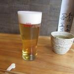 そば二十三 - 「生ビール」(2016/2)