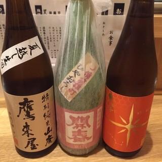 日本酒・日本ワイン・肴