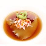 ヌーベルシノワ 玻璃 - ふかひれの姿煮 金華ハムの香り漂う極上ブラウンスープ(100g)