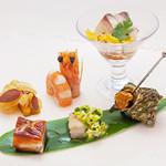 ヌーベルシノワ 玻璃 - 玻璃スタイル 本日の六種盛り前菜(1名様)