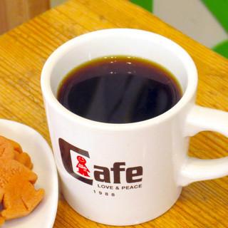 本格コーヒー《オーガニック豆使用のエアロプレス》