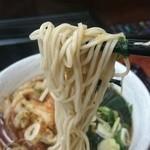 みのがさ - 麺アップ