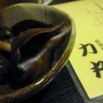 力丸 - お通しのつぶ貝:2010年8月
