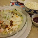 ガスト - 野菜たっぷり冷やし麺