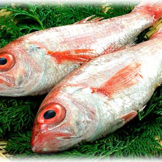 山陰の地魚を毎日仕入れ、鮮度にこだわります!