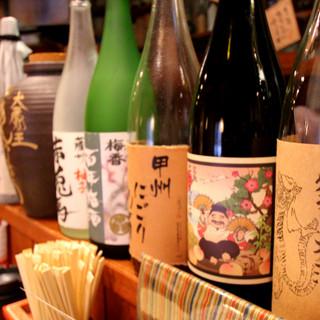焼酎や日本酒、カクテルなど豊富なドリンク