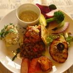 カッフェ ジャルディーノ - 料理写真:ランチの前菜盛り合わせ