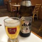 すき家 - 160204 瓶ビール